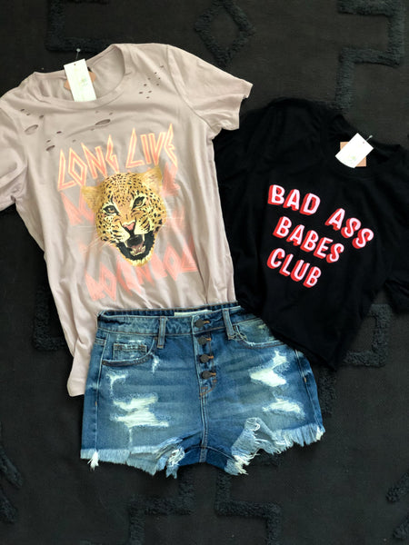 The Bad Ass Babe Tee