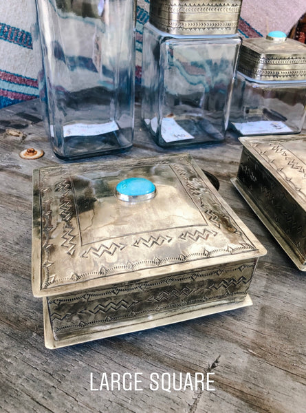 The Silver & Turquoise Boxes