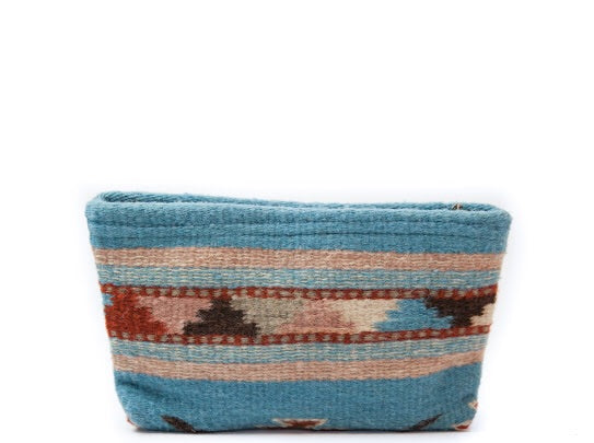 Summer Breeze Wool Clutch by MZ Fair Trade