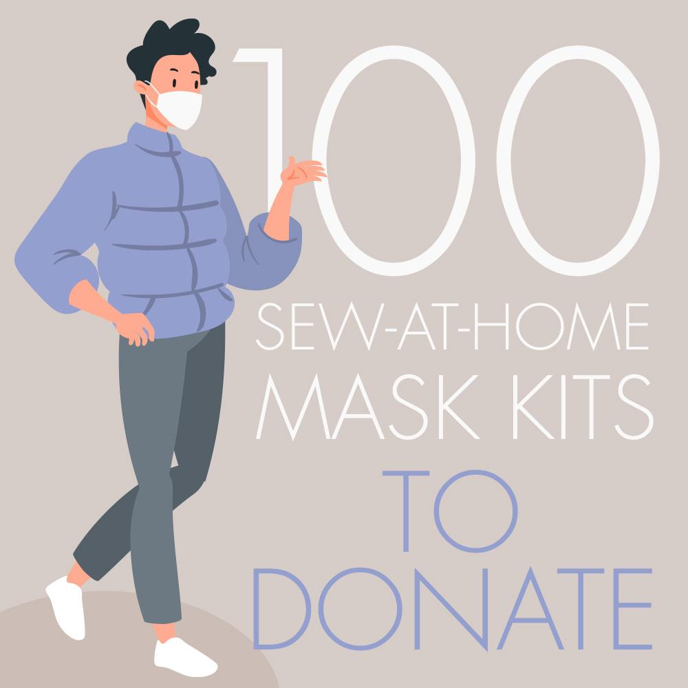 Sew 100 Masks to Donate