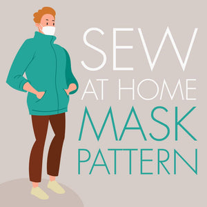 Sew-at-Home Mask Pattern