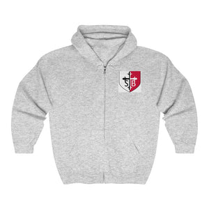 St Bernadette Unisex Heavy Blend™ Full Zip Hooded Sweatshirt