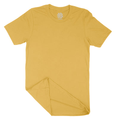 Gold Short Sleeve T-Shirt | Casual Surplus