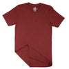 Maroon Short Sleeve T-Shirt | Casual Surplus