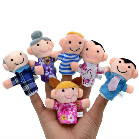 6pcs Family Finger Puppets - Toddlerist