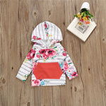 Floral swag outfit - Toddlerist