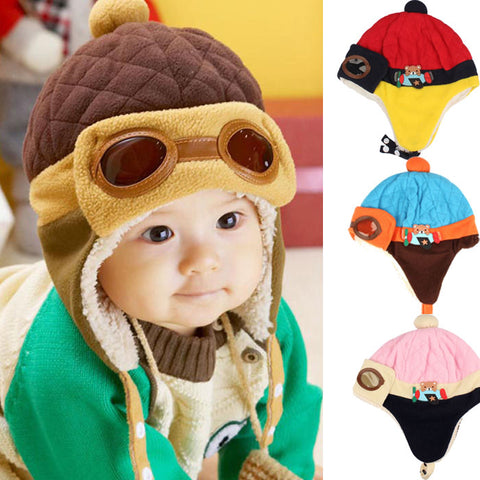 Baby Pilot's hat - Toddlerist