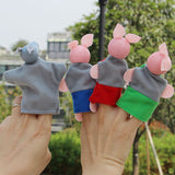 4pcs Three little piggies - Toddlerist