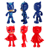 6Pcs Pj mask - Toddlerist