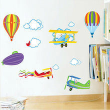 Plane wall sticker - Toddlerist