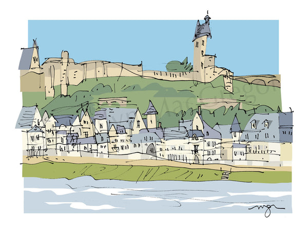 France: Loire Valley Chinon Hill