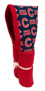 Chicago Cubs Red Hooded Towel