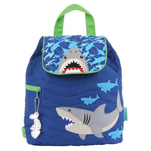 Shark Quilted Backpack