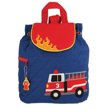 Firetruck Quilted Backpack