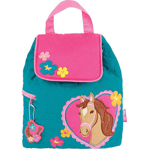 Horse Quilted Backpack