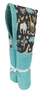 Sea Zoology Tiffany Hooded Towel