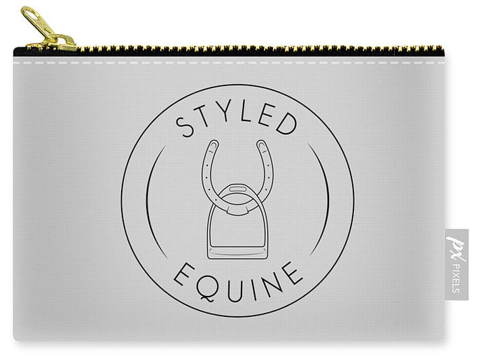 Styled Equine Carry-All Pouch