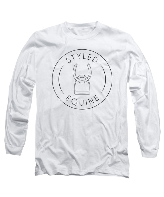 Styled Equine Logo Long Sleeve