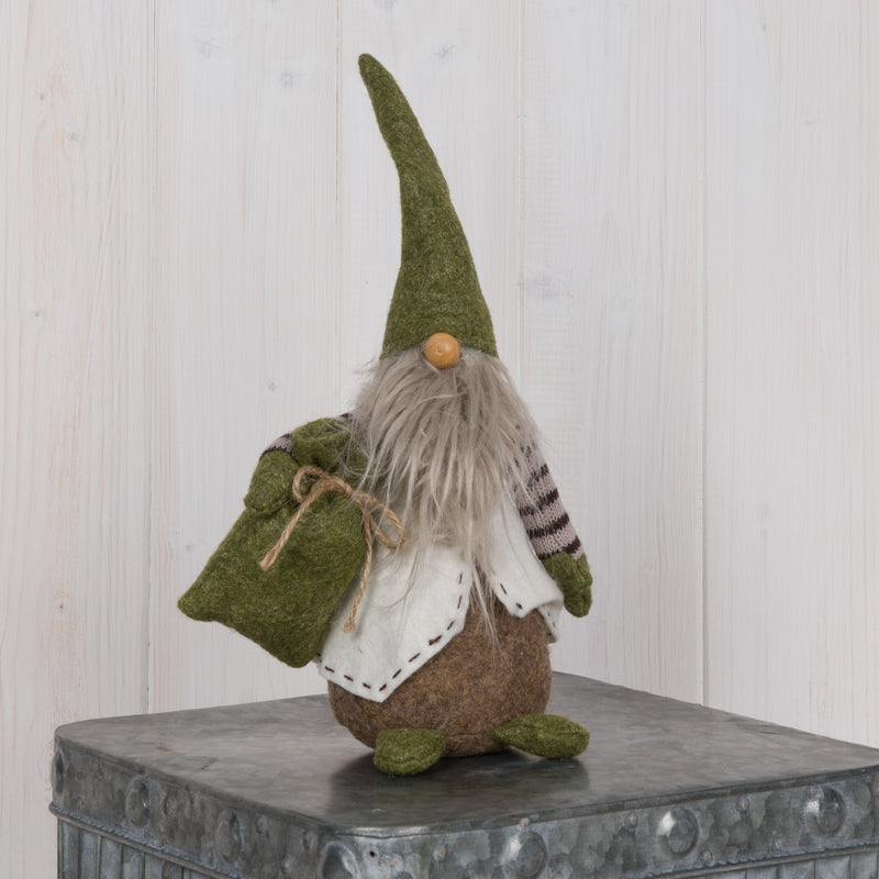 Green Gnome Decoration