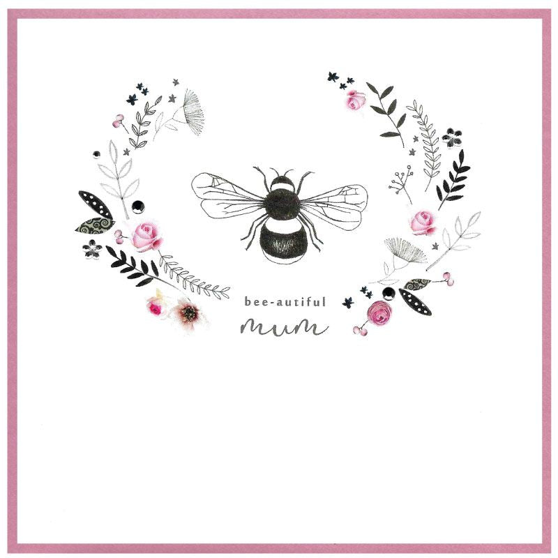 Bee-autiful Mum Card