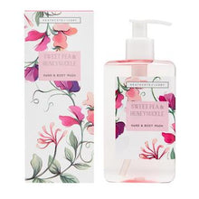 Load image into Gallery viewer, Sweet Pea & Honeysuckle Hand & Body Wash