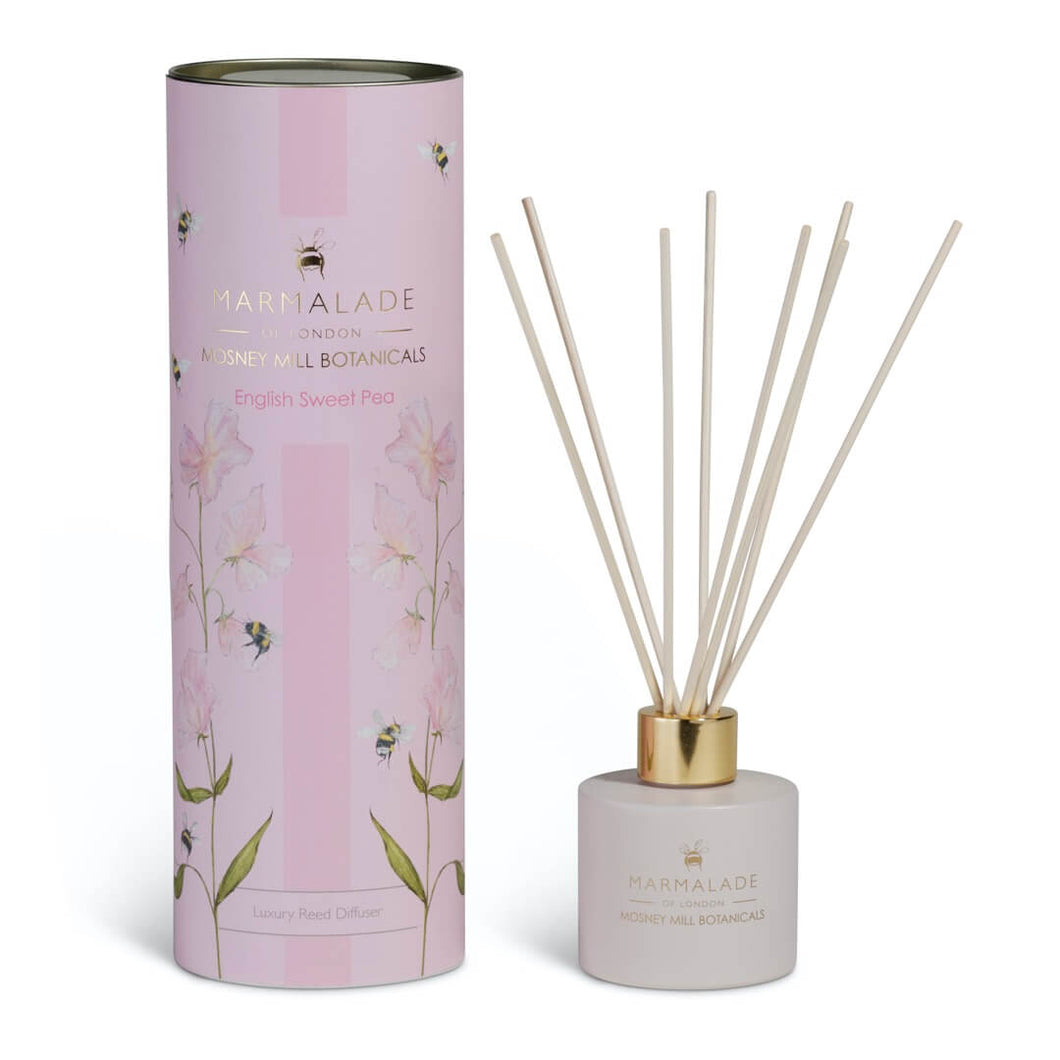Mosney Mill English Sweet Pea Reed Diffuser