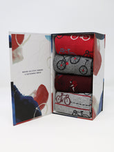 Load image into Gallery viewer, Micah Bicycle Sock Box