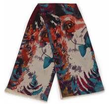 Load image into Gallery viewer, Luxurious Mr Fox Print Scarf
