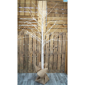 LED Birch Bark Effect Tree 180cm
