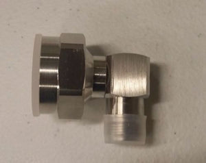 Adapter 7/16 DIN (M) Right Angle to N (F) RF connector