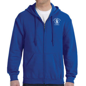 Long Beach Teacher's Zip Hoodie