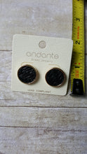Round Weave Stud Earrings