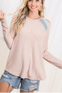 Brushed Cotton Sweater