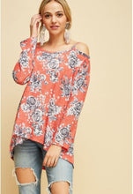 Sunkist Cold Shoulder Top