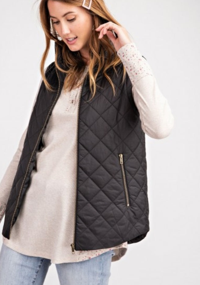 Quilted Soft Puffer Vest