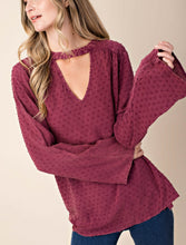 Mulberry Knotty Top ( only available in mulberry)