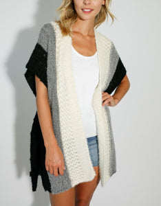 Knit Sweater Wrap