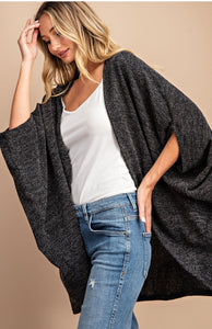 Dolman Short Sleeve Cardigan