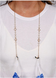 Clover & Pearl Fashion Mask Chain