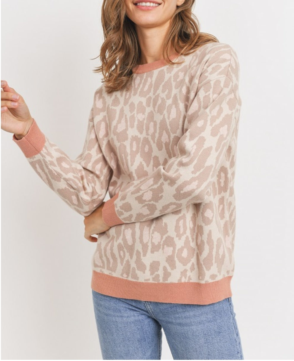 Wild Nights Cheetah Sweater