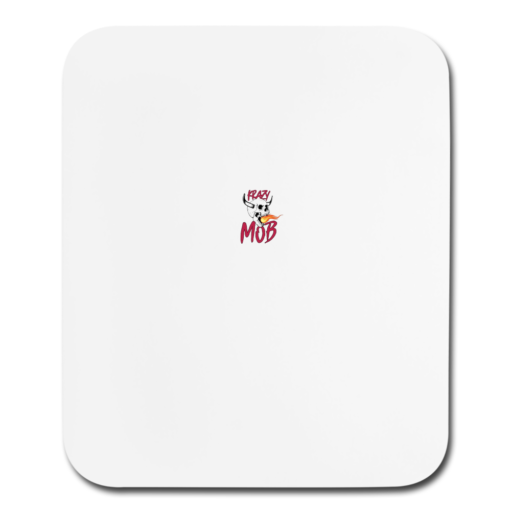 KRAZY MOB PRODUCER'S MOUSE PAD - white