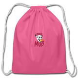 KRAZY MOB DRAWSTING BAG - pink