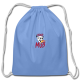 KRAZY MOB DRAWSTING BAG - carolina blue