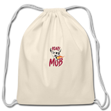 KRAZY MOB DRAWSTING BAG - natural