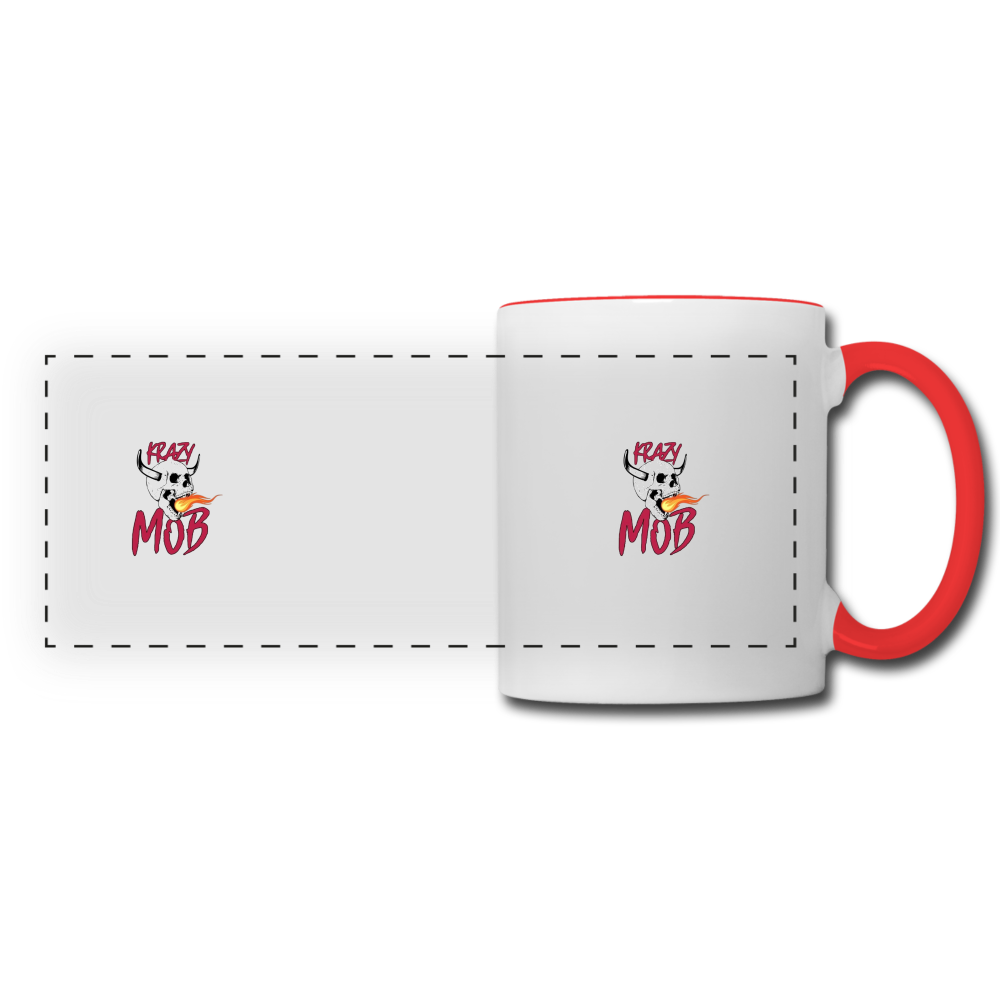 KRAZY MOB MUG - white/red