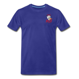 KRAZY MOB Men's Premium T-Shirt - royal blue