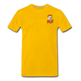 KRAZY MOB Men's Premium T-Shirt - sun yellow