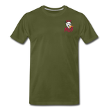 KRAZY MOB Men's Premium T-Shirt - olive green