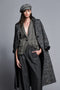 Sam Edelman Full Length Tweed Coat