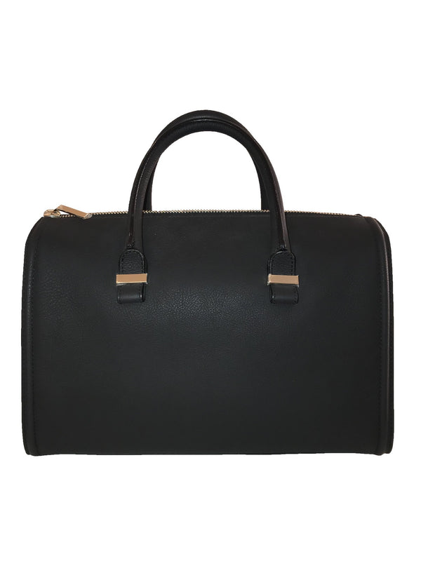 Black Soft Doctors Bowler Bag